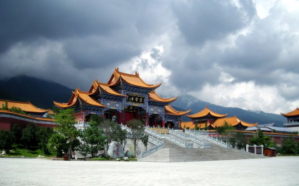 Man Made Building Buildings Temple Pagoda China HD Wallpaper   Background Image