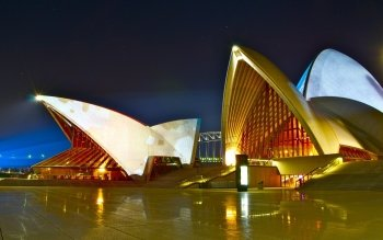 Man Made - Sydney Opera House  Wallpapers and Backgrounds ID : 349327