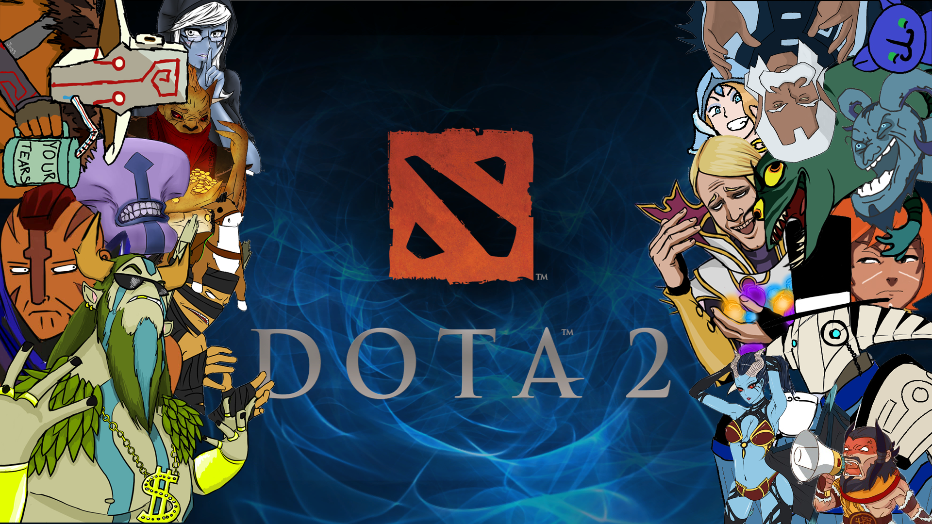 ... Coders | Wallpaper Abyss Everything Dota Video Game DotA 2 350231