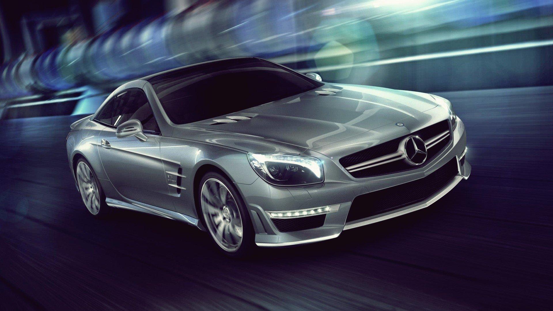 Mercedes-Benz SL 63 AMG Full HD Fond d'écran and Arrière-Plan   1920x1080   ID:350278