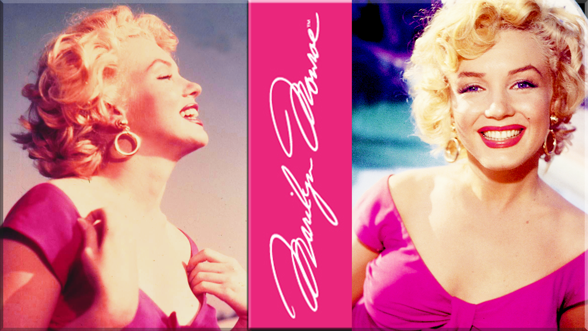 Marilyn monroe in pink computer wallpapers desktop backgrounds 1920x1080 id 351072 - Marilyn monroe wallpaper download ...