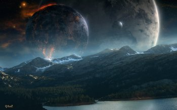 Ciencia Ficción - Planet Rise Wallpapers and Backgrounds ID : 351526