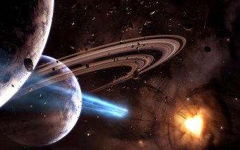 Science-Fiction - Planetary Ring Wallpapers and Backgrounds ID : 351764