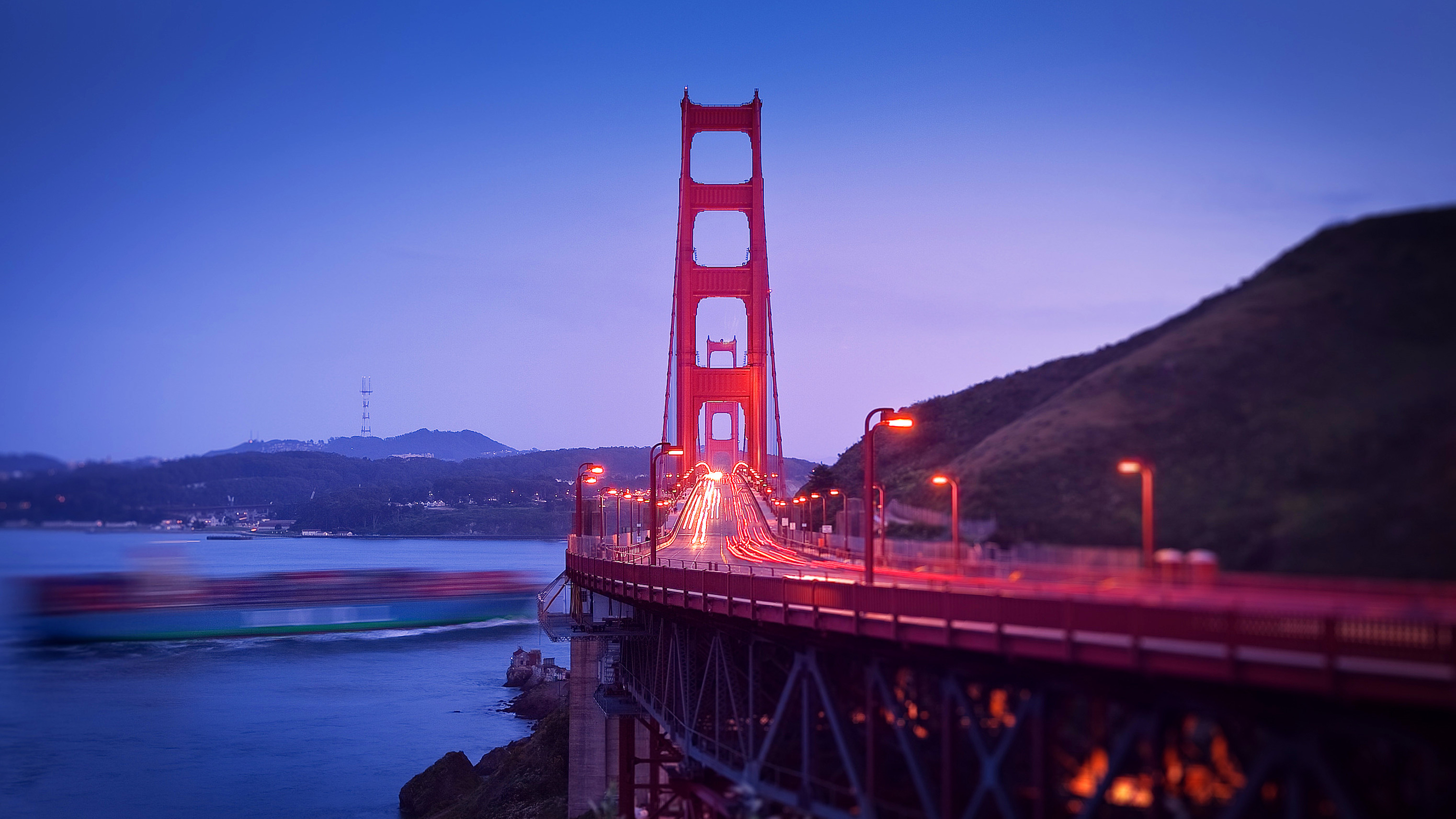 Golden Gate Hd Wallpaper Background Image 3040x1710 Id 352570 Wallpaper Abyss