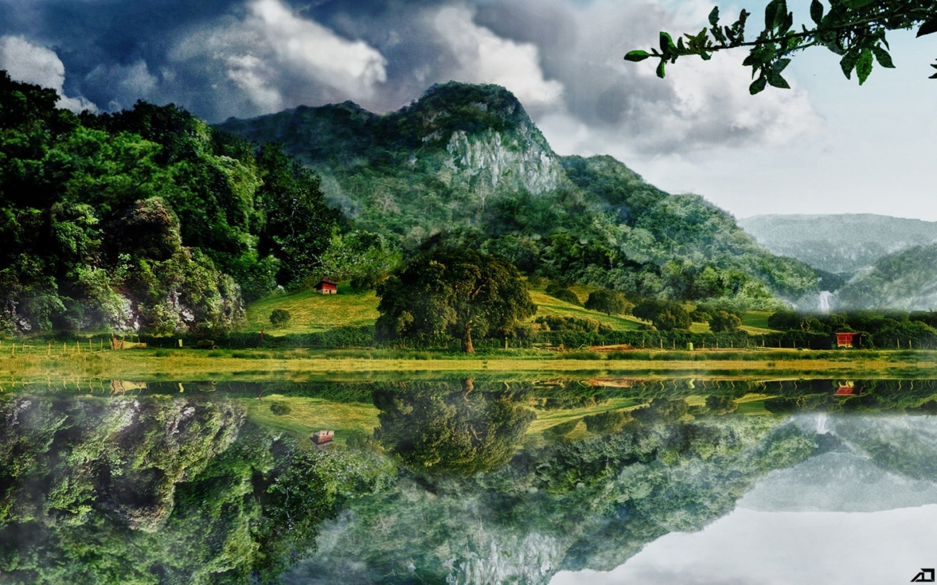Reflection Full Hd Wallpaper And Background 1920x1200 Id 352662