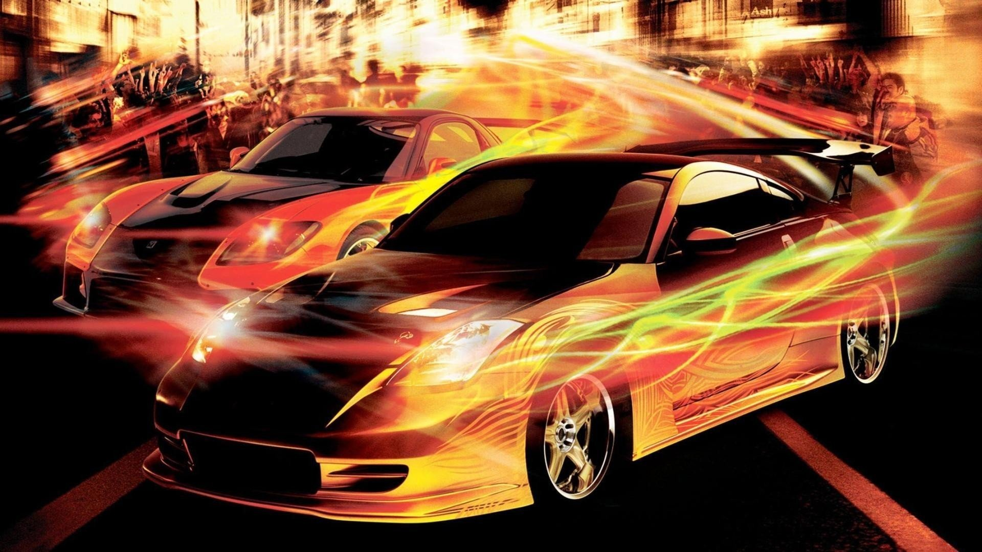 The Fast And The Furious Tokyo Drift Hd Wallpaper Background