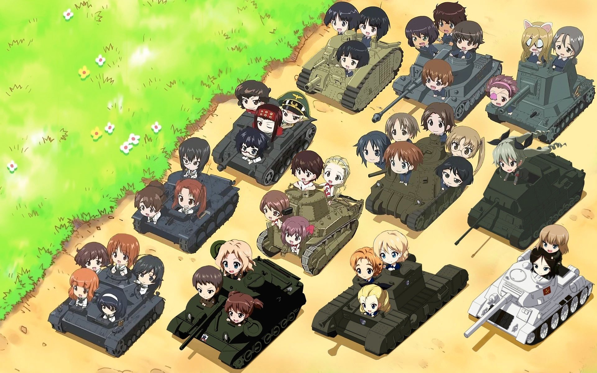 Anime - Girls und Panzer  Wallpaper