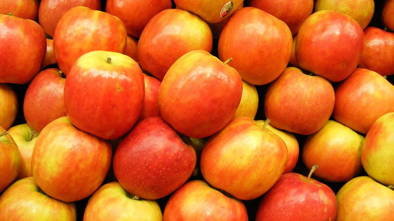 Sweet Red Apples HD Wallpaper | Background Image ...