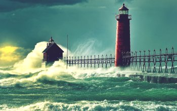 Man Made - Lighthouse Wallpapers and Backgrounds ID : 356001