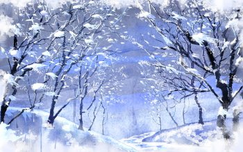 Artistisk - Winter Wallpapers and Backgrounds ID : 356571