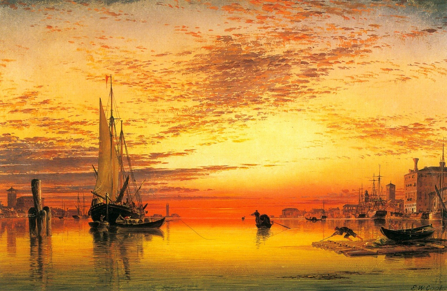 Oil Painting Wallpaper and Background Image | 1524x992 ...