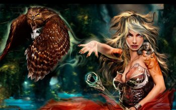 Fantasy - Witch Wallpapers and Backgrounds ID : 357622