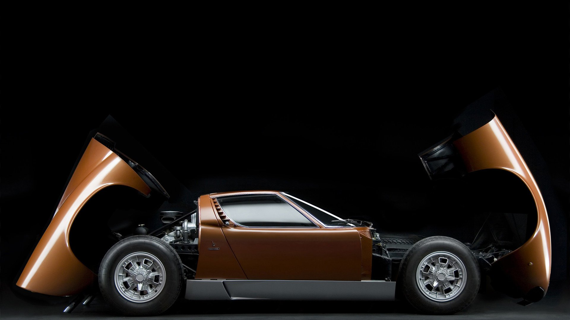 Lamborghini Miura Hd Wallpaper Background Image 1920x1080 Id