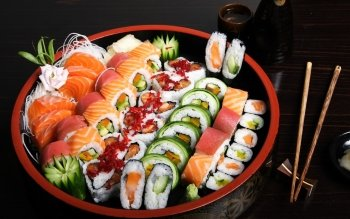 Food - Sushi Wallpapers and Backgrounds ID : 358131