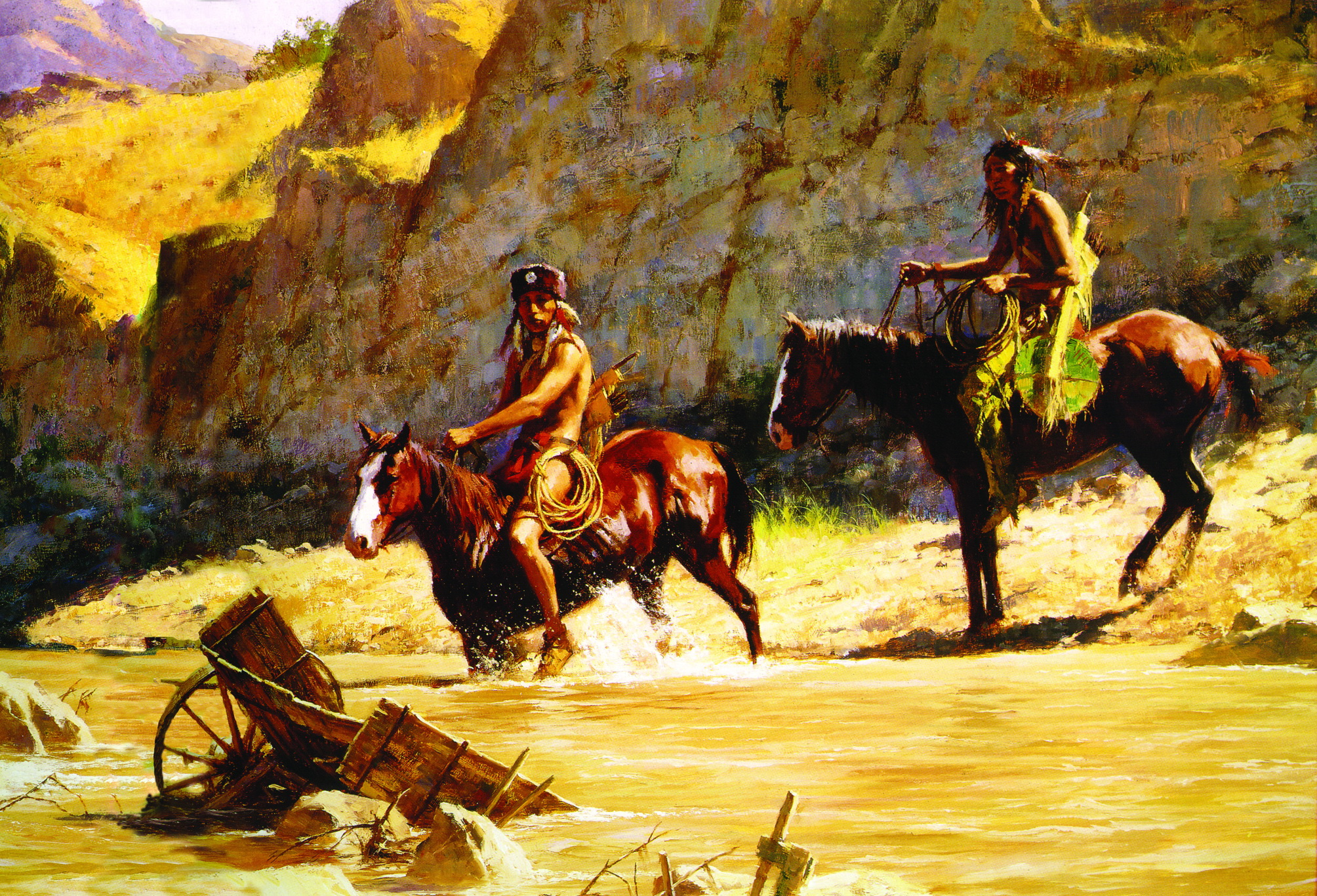 Indians Of North America Full Hd Wallpaper And Background