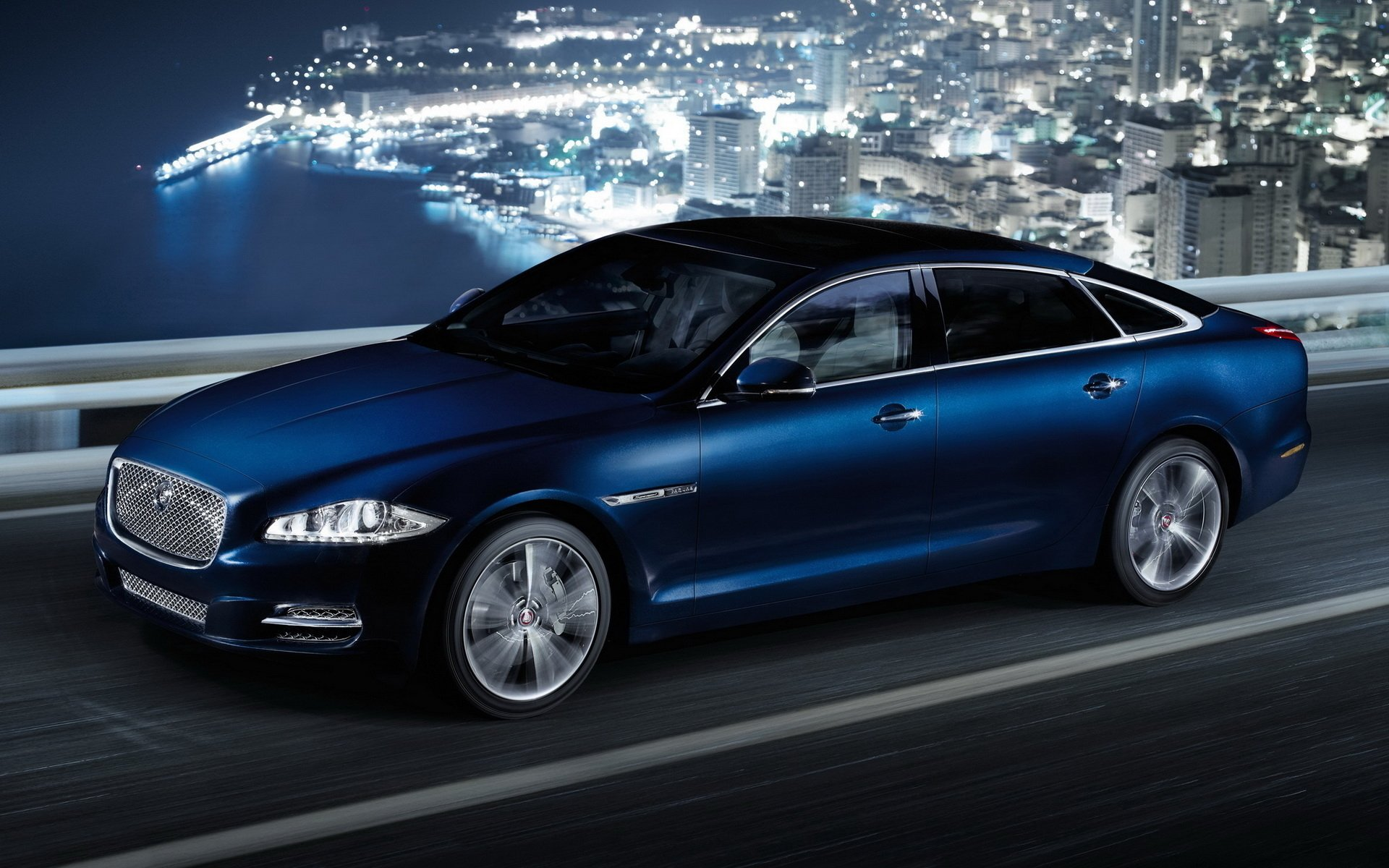 Jaguar Car Wallpaper Wallpapers High Quality: Jaguar XJ Full HD Wallpaper And Background Image