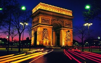 Man Made - Arc De Triomphe Wallpapers and Backgrounds ID : 359444