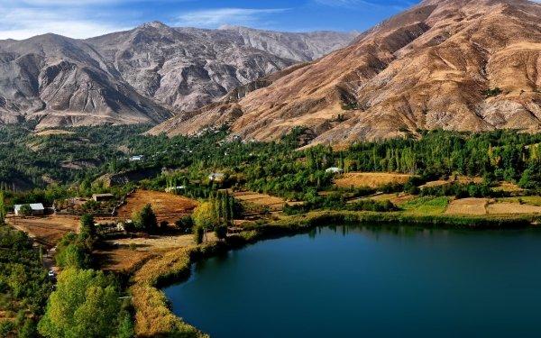 Photography Lake Lakes Mountain Iran Ovan Lake HD Wallpaper   Background Image