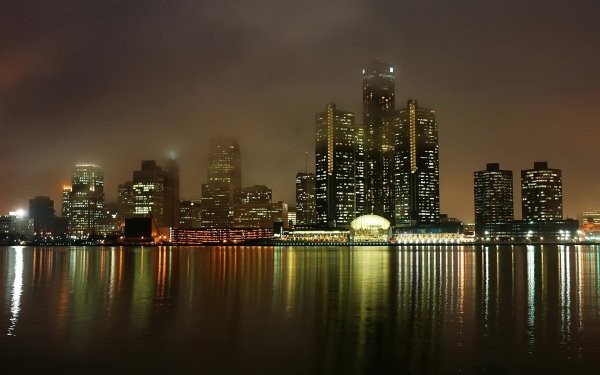 Man Made Detroit Cities United States Michigan HD Wallpaper | Background Image