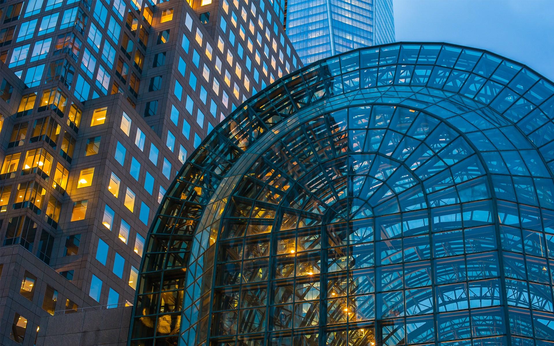 download glass buildings wallpaper - photo #24
