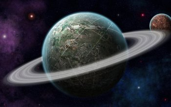 Science-Fiction - Planetary Ring Wallpapers and Backgrounds ID : 363147