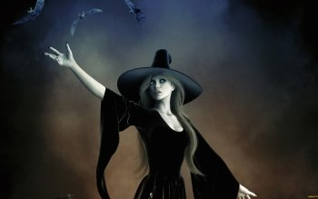 Fantasy - Witch Wallpapers and Backgrounds