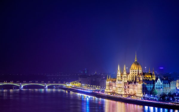 Man Made Budapest Cities Hungary Hungarian Parliament Building HD Wallpaper | Background Image