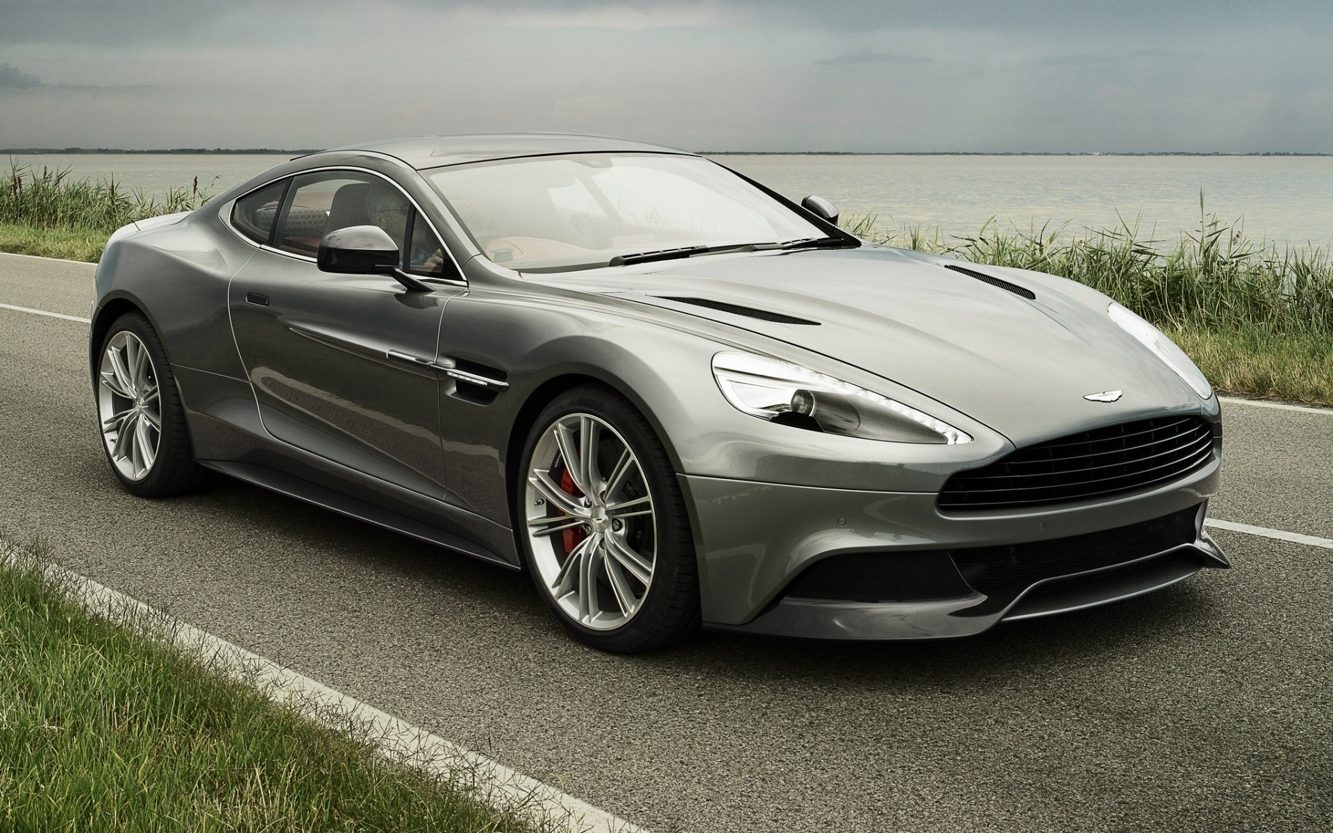 Aston Martin Vanquish Full HD Wallpaper And Background Image
