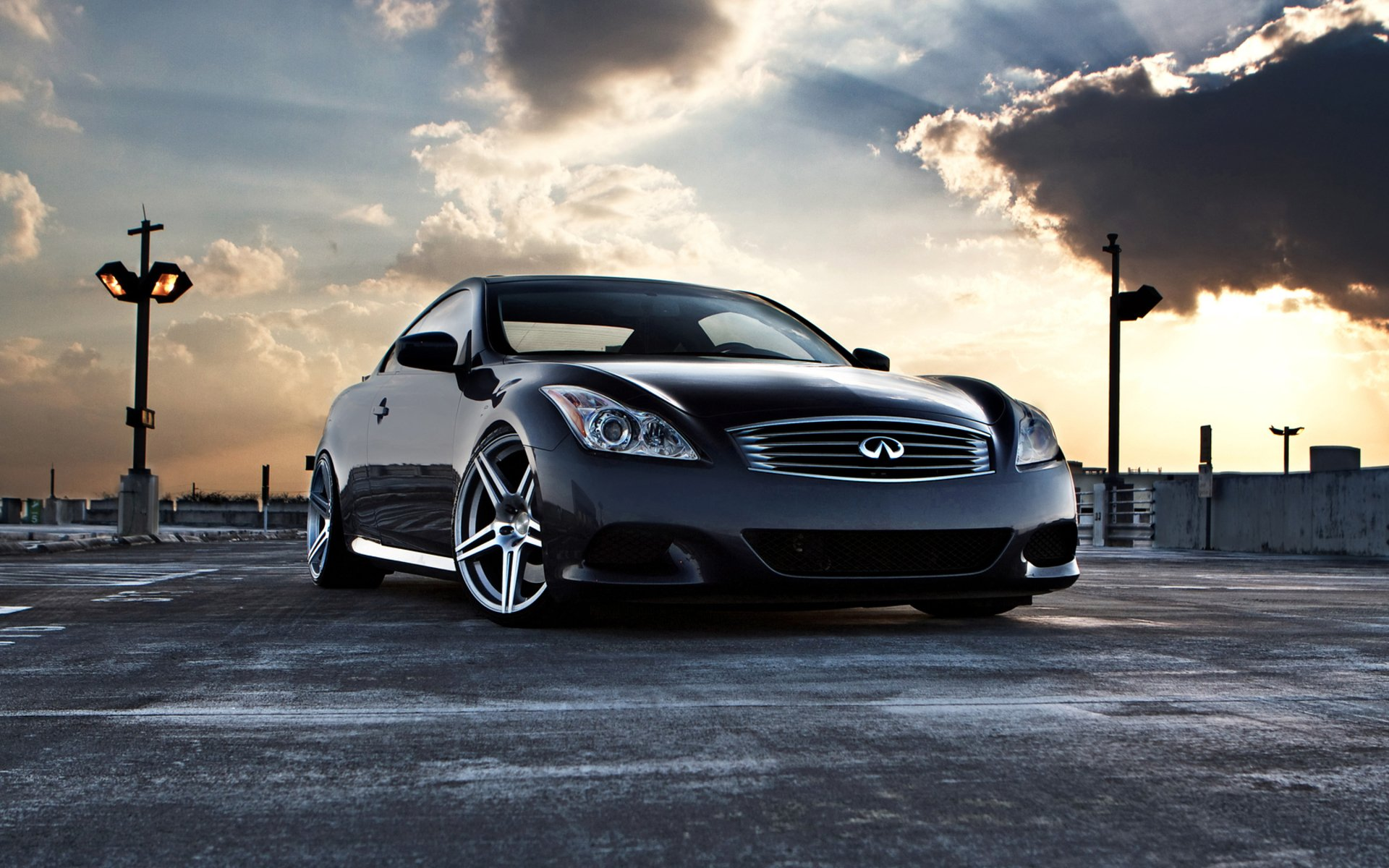 Infiniti G37 Full HD Wallpaper And Background Image