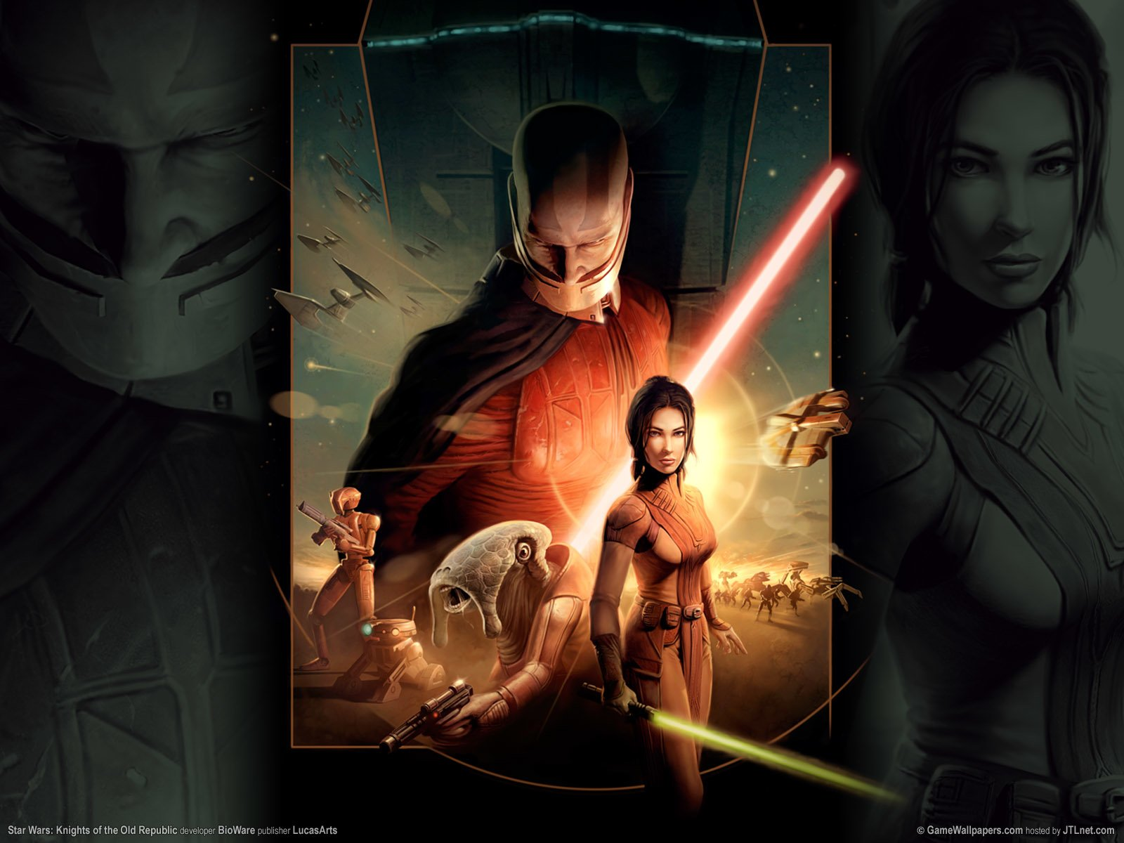 Star Wars Knights Of The Old Republic Wallpaper And Background Image 1600x1200 Id 367111 Wallpaper Abyss