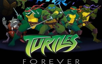 Caricatura - Teenage Mutant Ninja Turtles Forever Wallpapers and Backgrounds ID : 367835