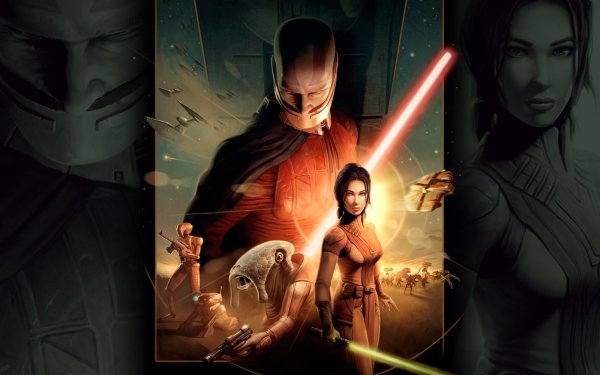 Video Game Star Wars: Knights of the Old Republic Star Wars Darth Malak HD Wallpaper | Background Image