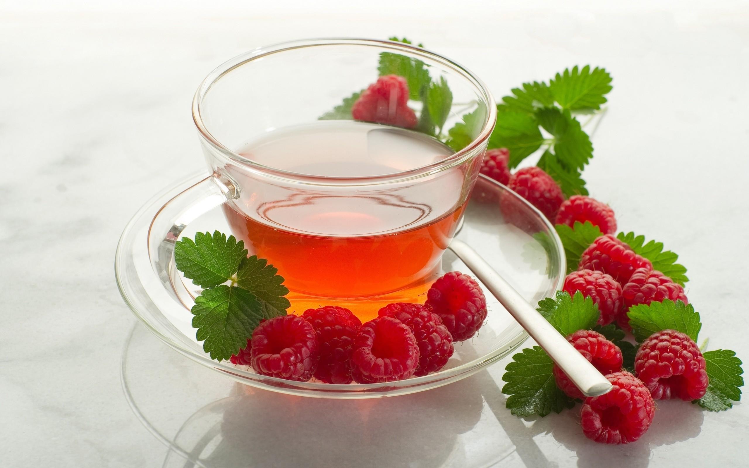 Чай малины при простуде