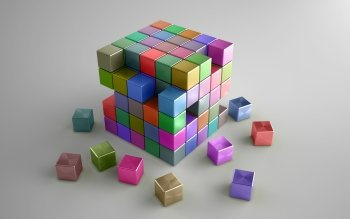 CGI - Cube Wallpapers and Backgrounds ID : 368826