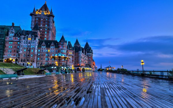 Man Made Château Frontenac Buildings Hotel HD Wallpaper | Background Image
