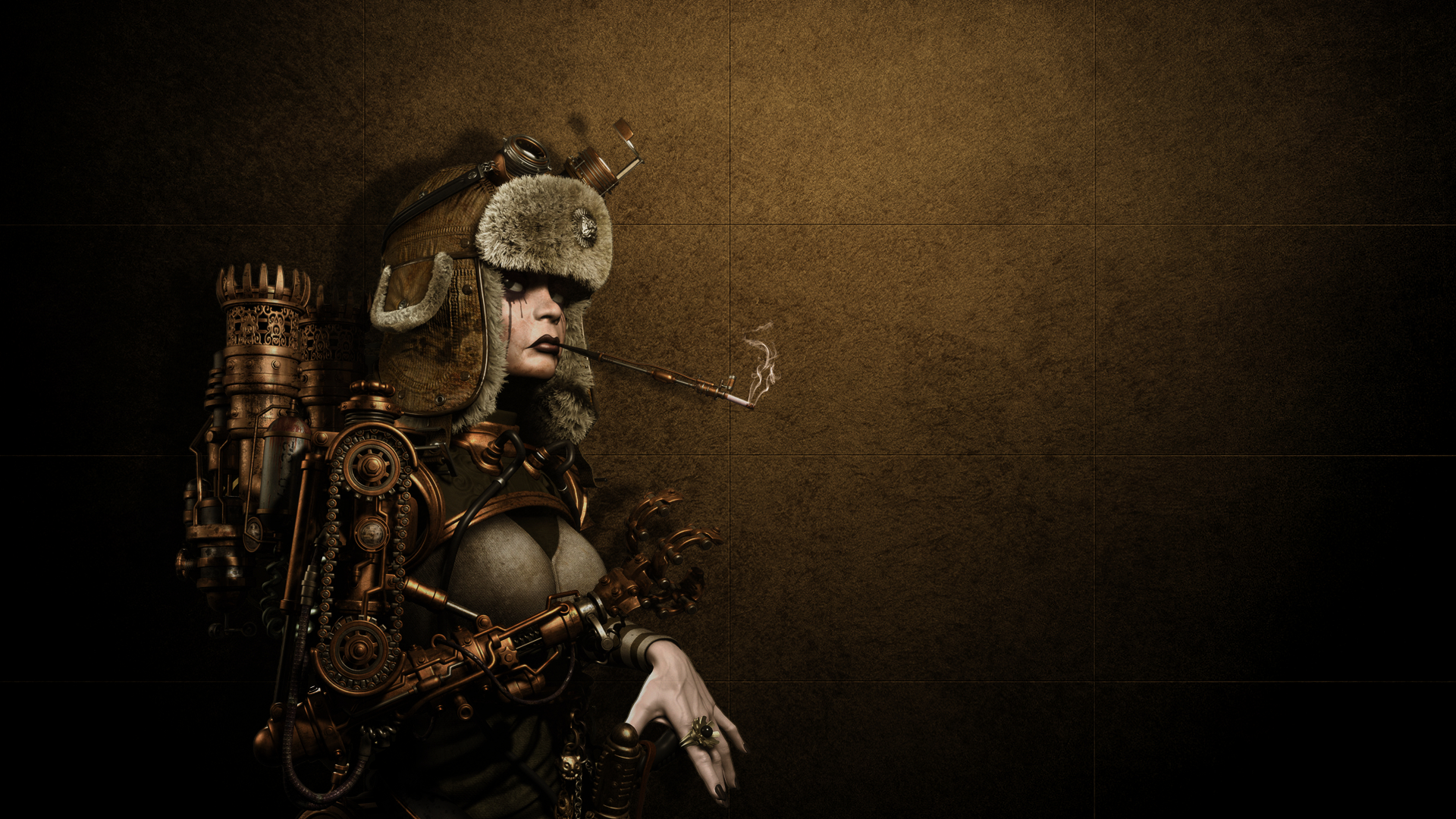 wallpapers steampunk girl eyes - photo #34
