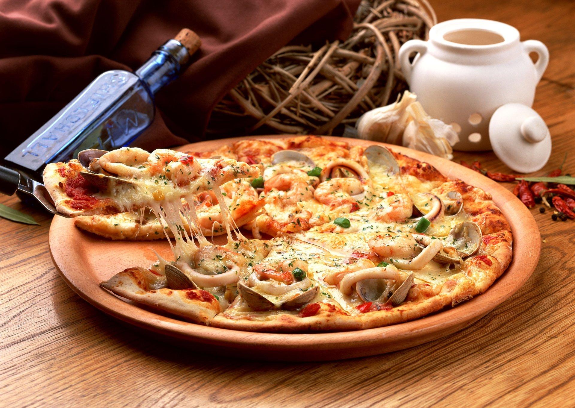Food - Pizza  Wallpaper
