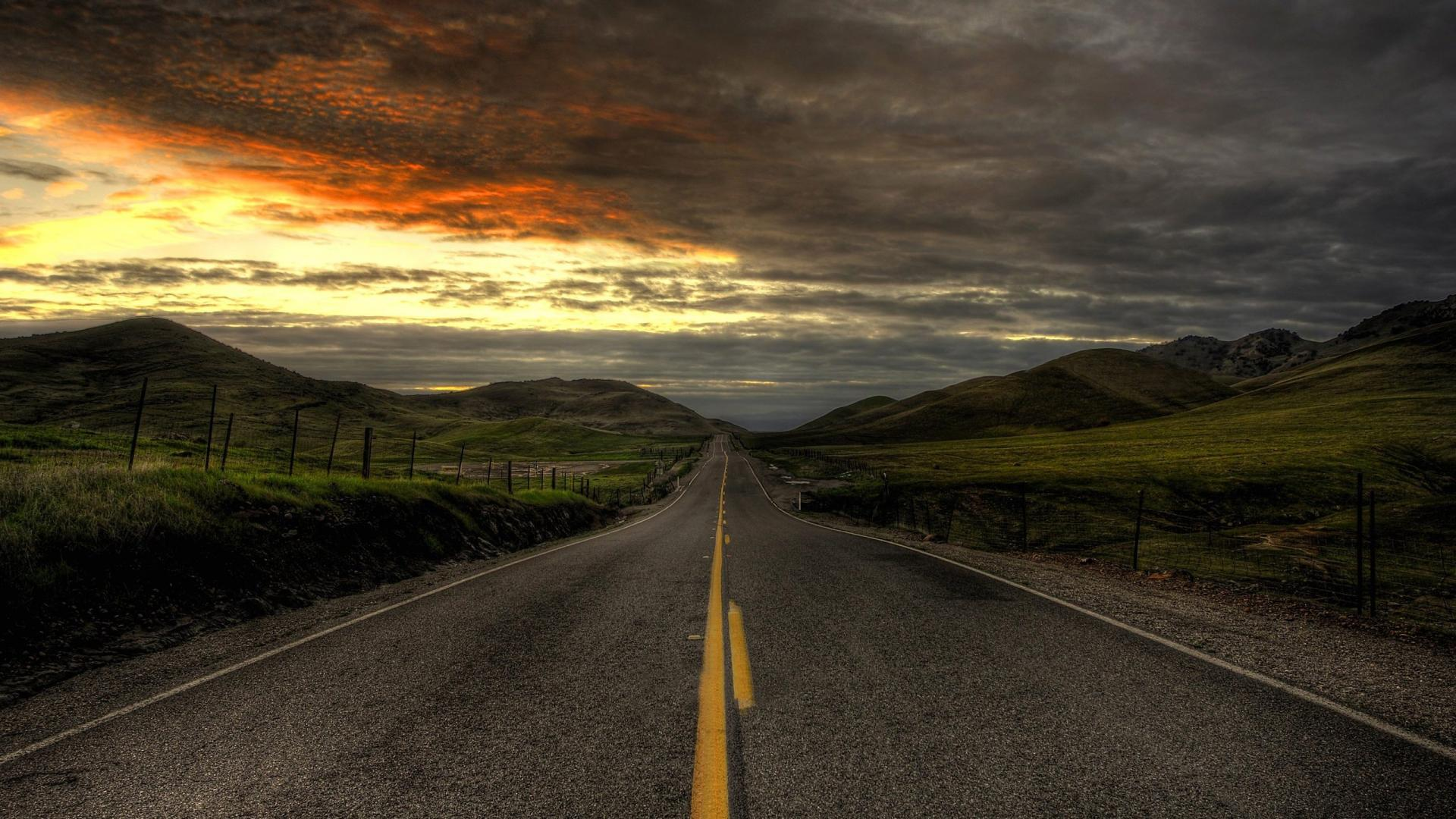 Road Full HD Wallpaper And Background Image