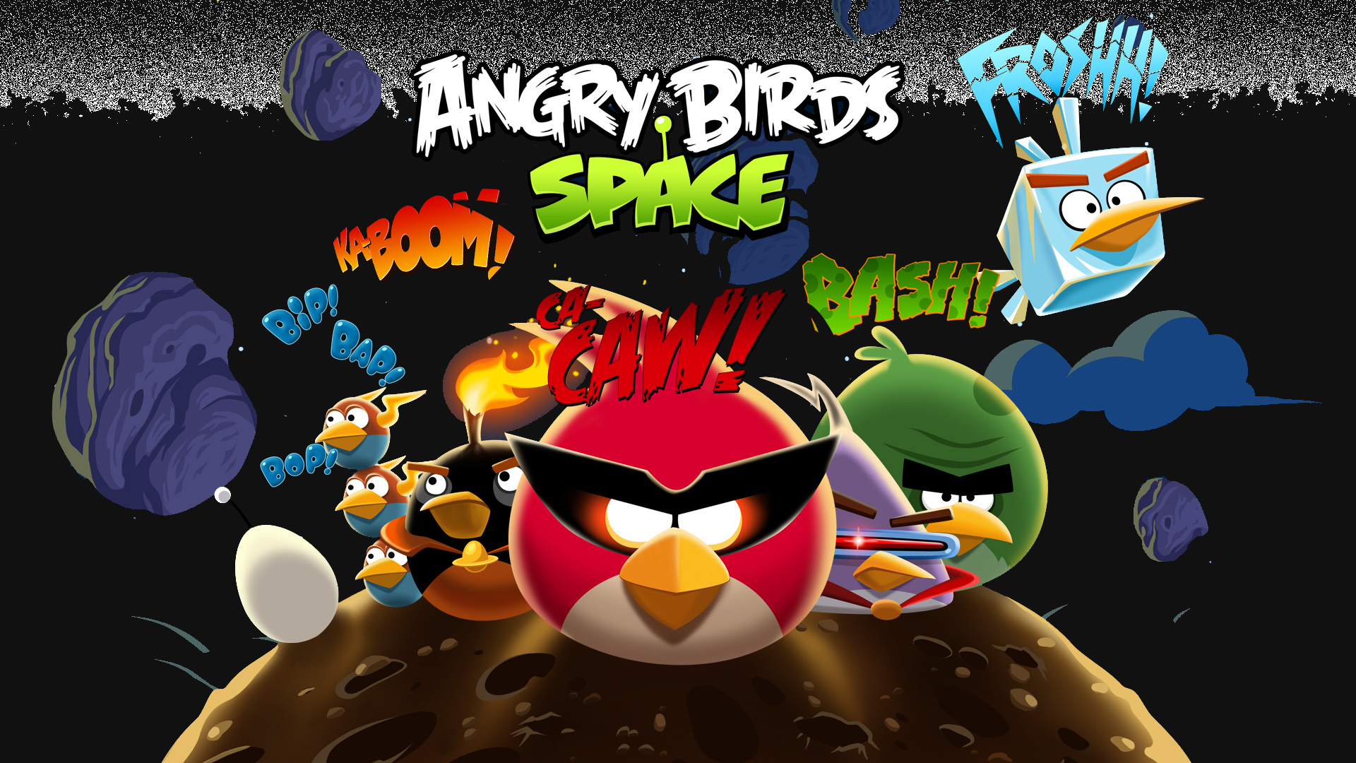 8 Angry Birds: Space HD Wallpapers