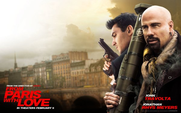 Movie From Paris with Love John Travolta HD Wallpaper   Background Image