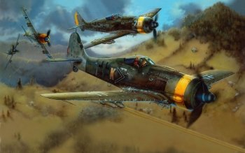 Military - Focke-wulf Fw 190 Wallpapers and Backgrounds ID : 372228
