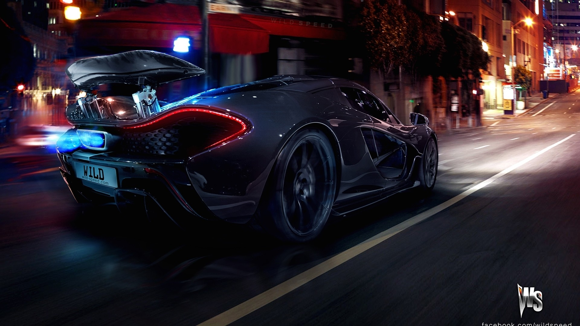 Imagenes De Autos Ultra Hd: McLaren P1 HD Wallpaper
