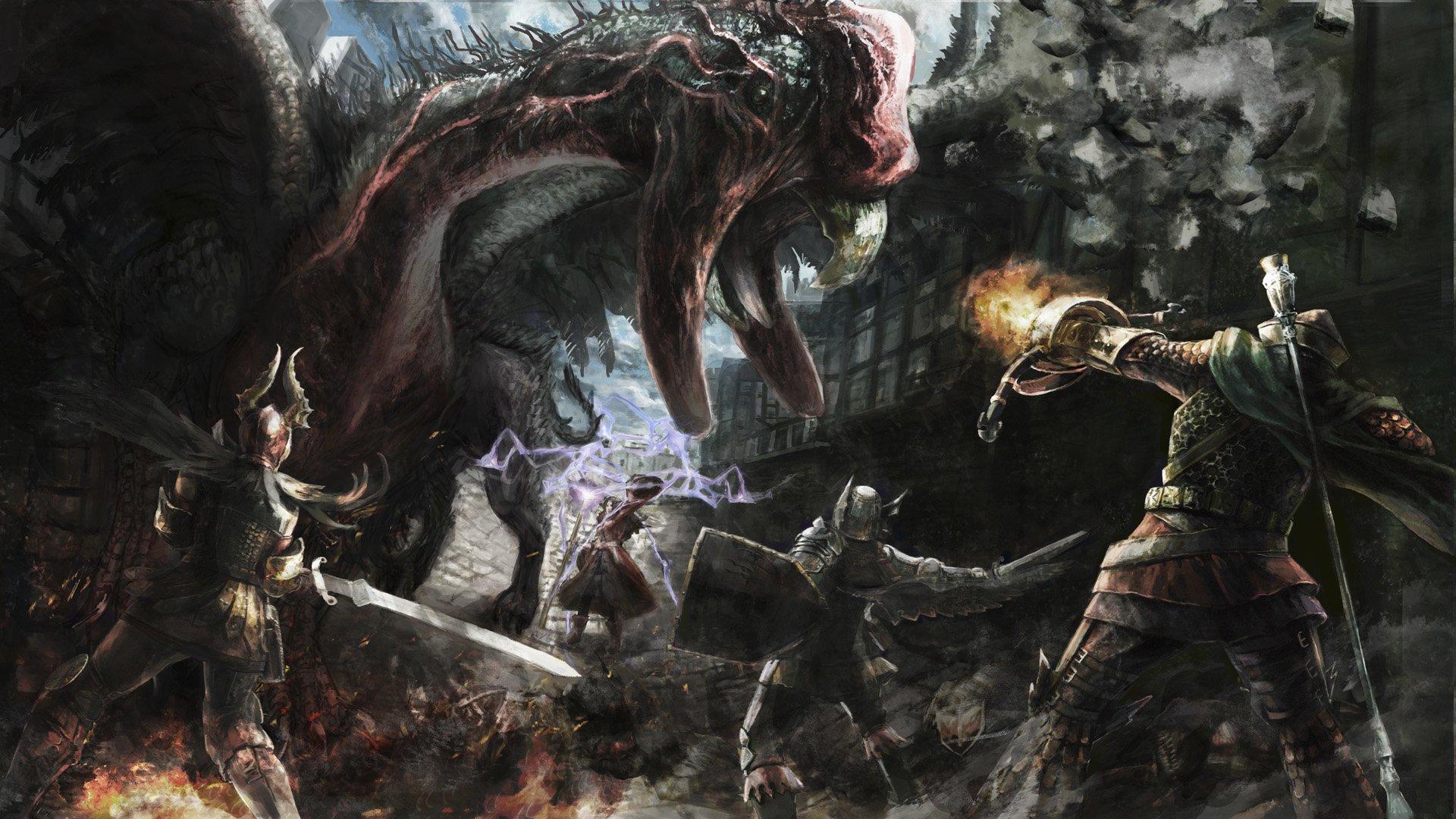 Dragons Dogma Dark Arisen Fondo De Pantalla Hd Fondo De