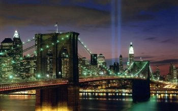 Man Made - Brooklyn Bridge Wallpapers and Backgrounds ID : 373106
