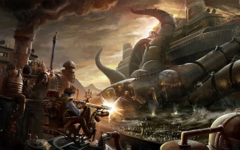 Sci Fi - Steampunk Wallpapers and Backgrounds ID : 373392