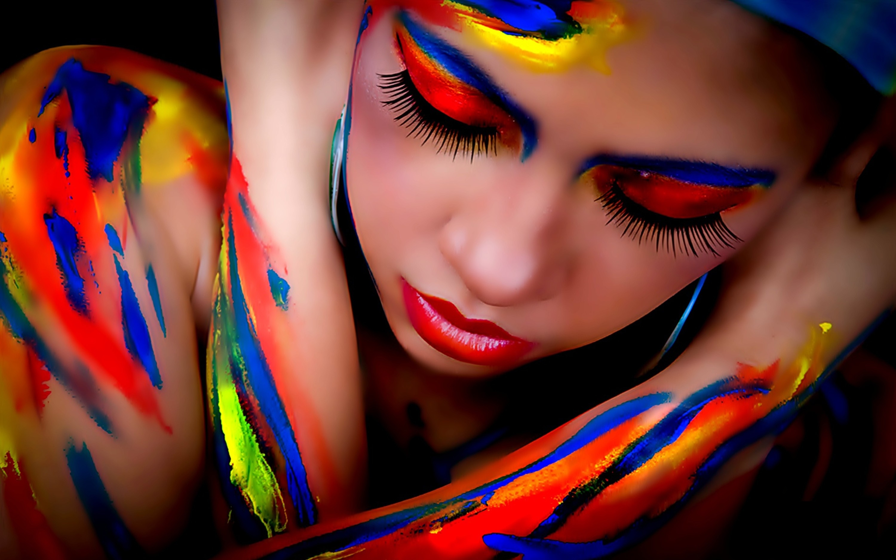 Body painting by ulysses the beautiful female form - Color y pintura ...