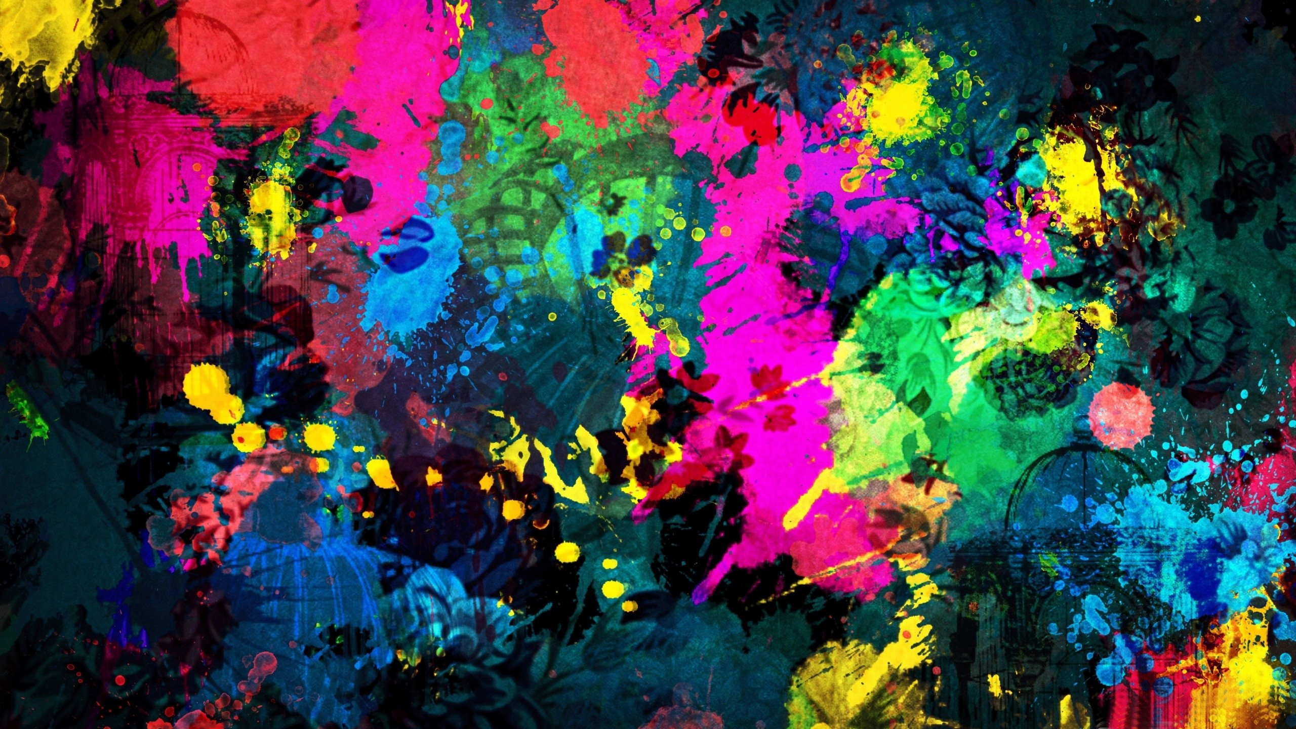 Colors Hd Wallpaper Background Image 2560x1440 Id
