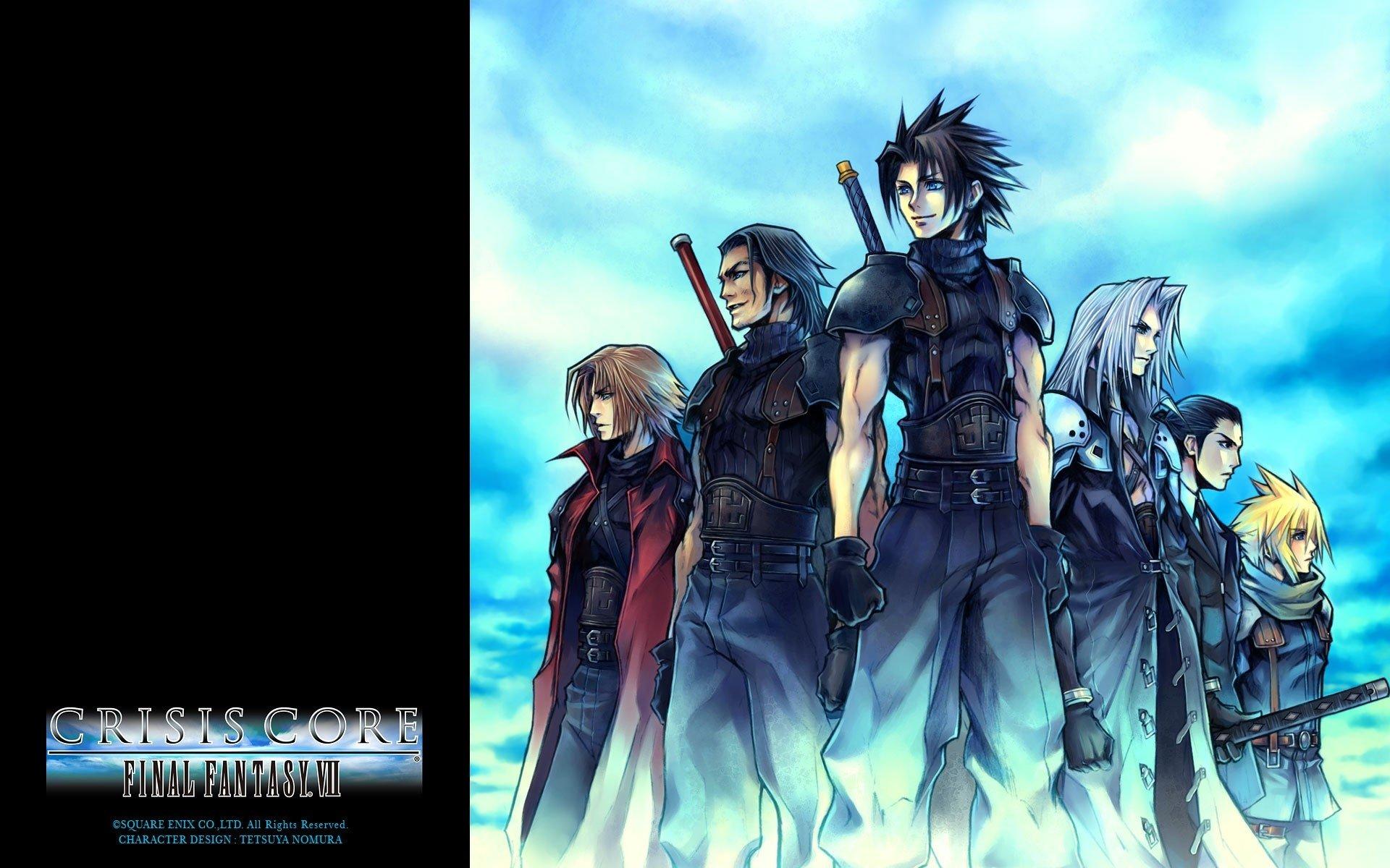 Crisis Core Final Fantasy Vii Hd Wallpaper Background Image