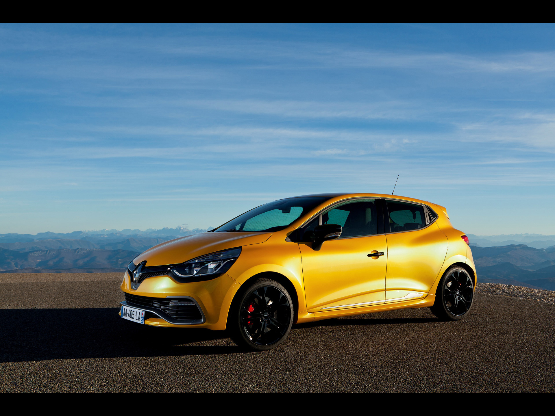 3 2013 renault clio rs 200 edc hd wallpapers backgrounds. Black Bedroom Furniture Sets. Home Design Ideas