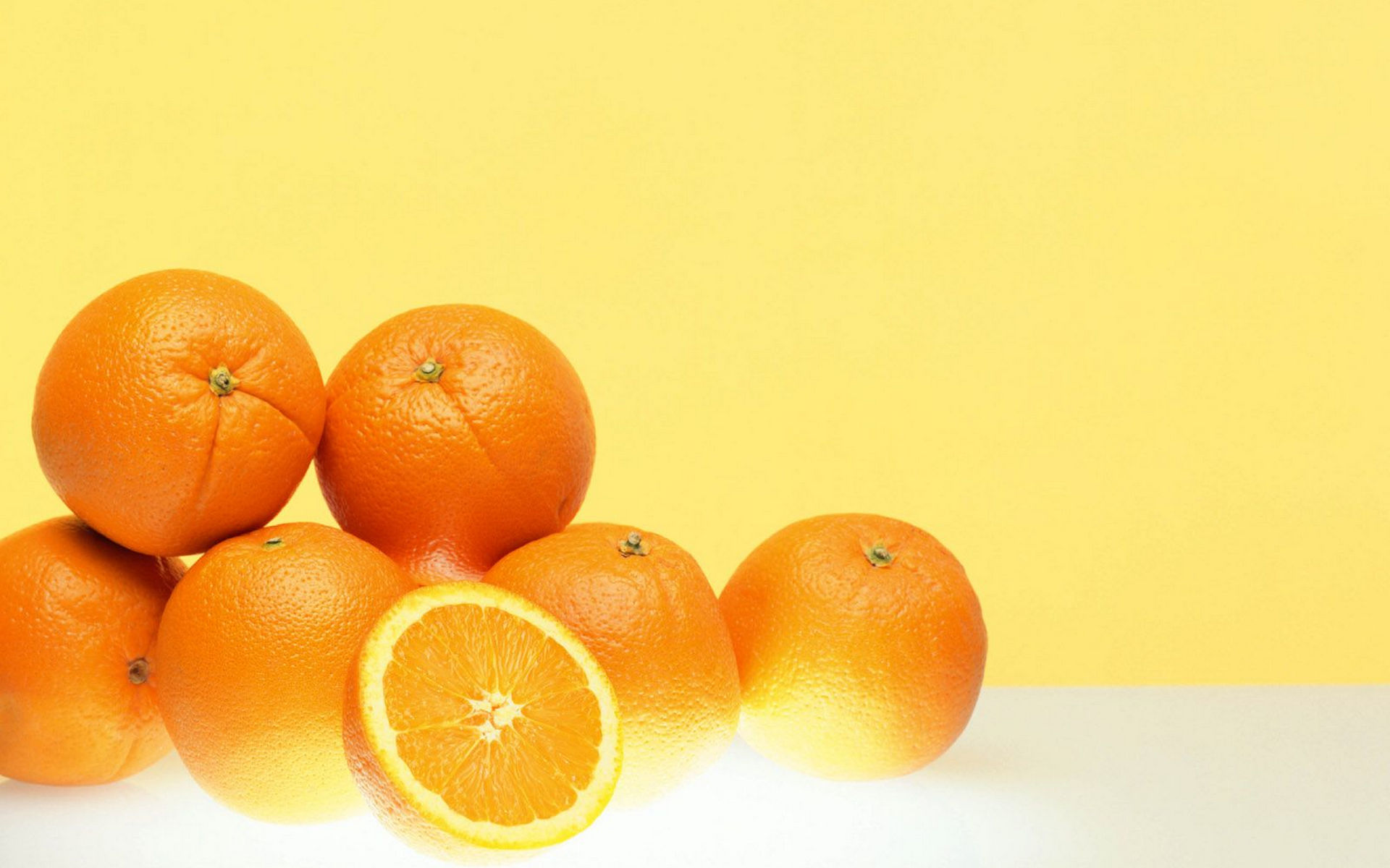 Food - Orange  Wallpaper